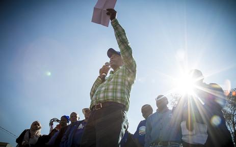 The Democratic Alliance's Mayoral candidate for Gauteng Herman Mashaba. icture: Thomas Holder/EWN