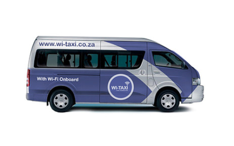 The South African National Taxi Council and Telkom have launched the Wi-Taxi project which will see taxis in parts of the country fitted with free high speed wireless internet. Picture: Supplied.
