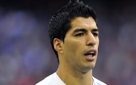 Liverpool striker Luis Suarez. Picture: AFP.