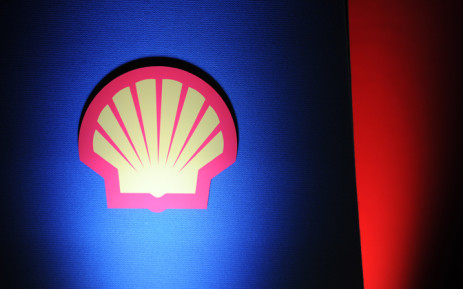 The logo of Royal Dutch Shell is seen in London. Picture: EPA.