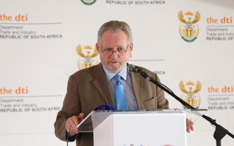 Trade and Industry Minister Rob Davies. Picture: DTI.