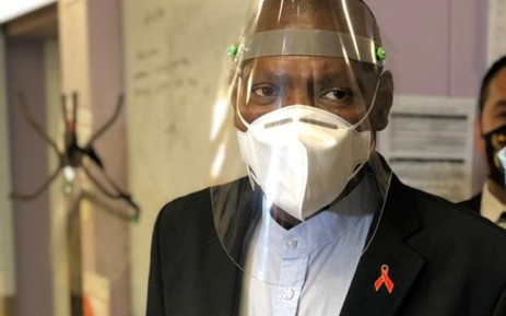 FILE: Health Minister Dr Zweli Mkhize during a walkabout at the Dora Ngiza Hospital in Port Elizabeth on 23 July 2020. Picture: @DrZweliMkhize/Twitter.