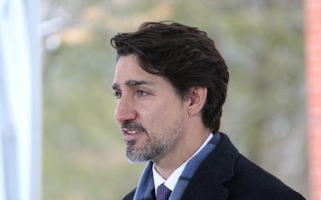 In this file photo taken on 24 March 2020, Canadian Prime Minister Justin Trudeau speaks during a news conference on COVID-19 situation in Canada from his residence in Ottawa, Canada. Picture: AFP.