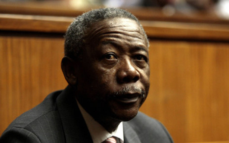 A file photo of former national police commissioner Jackie Selebi while he was appearing in the Johannesburg High Court, 3 August 2010. Picture: Sapa