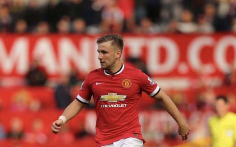 Manchester United defender Luke Shaw. Picture: @LukeShaw23/Twitter