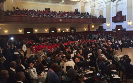 City of Johannesburg held its first council sitting to elect a new mayor on Monday 22 August 2016. Picture: Christa Eybers/EWN.