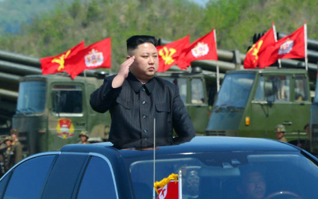 North Korean leader Kim Jong Un. Picture: AFP