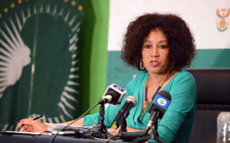 FILE: Human Settlements Minister Lindiwe Sisulu. Picture: Dirco