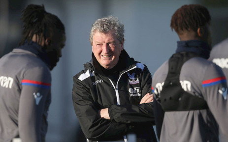 Crystal Palace's Roy Hodgson seen during a training session ahead of the London derby against Arsenal. Picture: www.cpfc.co.uk.