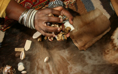 FILE: A Traditional healer. Picture: EWN