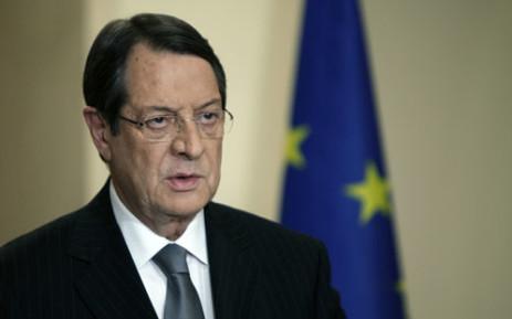 Cypriot President Nicos Anastasiades. Picture: AFP/PETROS KARADJIAS