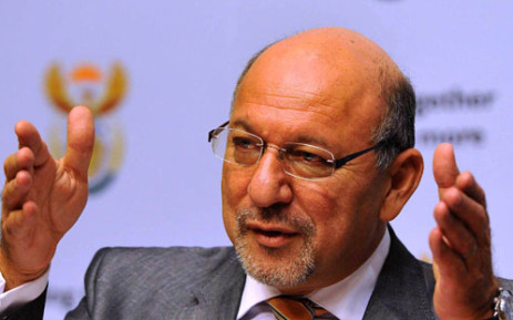 Trevor Manuel says the mining industry will flourish if all parties involved work together. Picture: GCIS/SAPA