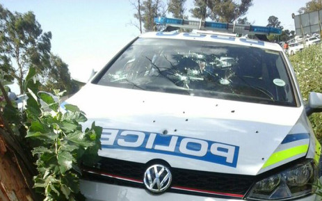 FILE: Gunmen opened fire on a vehicle driven by a member of the Gauteng police say a member of the Flying Squad. Picture: Supplied.