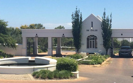 FILE: The De Zalze estate where three members of the van Breda family were murdered. Picture: Masa Kekana/EWN.