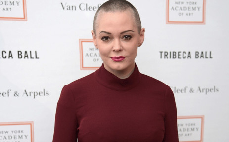 FILE: Actress Rose McGowan attends New York Academy of Art's Tribeca Ball 2016 on 4 April 2016 in New York City. Picture: AFP
