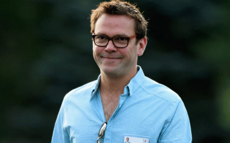 In this file photo taken on July 10, 2013 James Murdoch, son of Rupert Murdoch, arrives for morning session of the Allen & Co. annual conference at the Sun Valley Resort in Sun Valley, Idaho. Picture: AFP