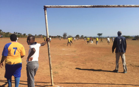 Soccer tournament in protest against elections underway in Vuwani. Picture: Masa Kekana/EWN