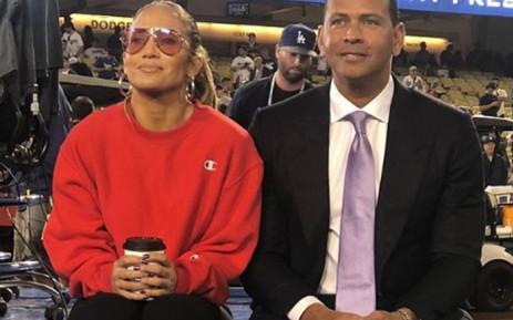 Jennifer Lopez and Alex Rodriguez . Picture: @jlo/instagram.com