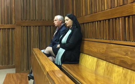 Vicki Momberg at the Johannesburg High Court on 28 June 2019. Picture: Thando Kubheka/EWN