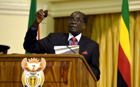 African Union (AU) Chair and Zimbabwean President Robert Mugabe. Picture: GCIS.