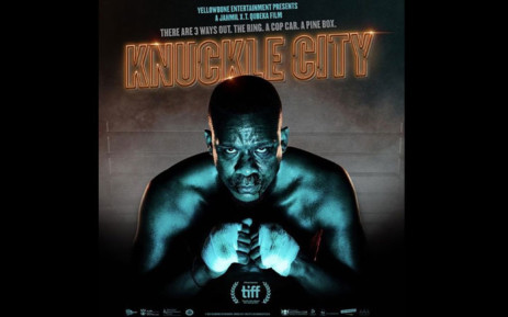 A 'Knuckle City' poster. Picture: @yellowbone_entertainmen/instagram.com