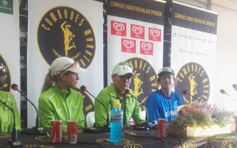 Ladies winner Charne Bosman says it's an amazing feeling to win her maiden Comrades. Picture: Rafiq Wagiet/EWN.