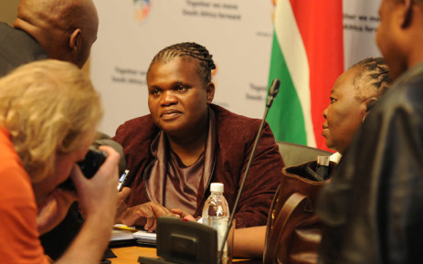FILE: Department of Communications Minister Faith Muthambi. Picture: GCIS..