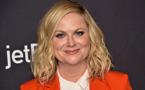 """US actress Amy Poehler arrives for the PaleyFest presentation of NBC's """"Parks and Recreation"""" 10th Anniversary Reunion at the Dolby theatre on March 21, 2019 in Hollywood. Picture: AFP."""
