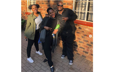 HHP and his younger sisters Ayanda and Zanele. Picture: @Jabbaman/Instagram.