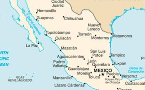 Pacific Mexico Map.Mexico Evacuates Pacific Oil Port Refinery Safe