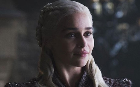 A screengrab shows Emilia Clarke in Game of Thrones season 8. Clarke plays the role of Daenerys Targaryen. Picture: HBO/Twitter