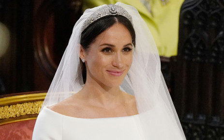 FILE: Meghan Markle in St George's Chapel, Windsor Castle for her wedding to Prince Harry on 19 May 2018. Picture: Reuters.