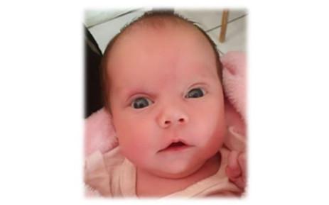 Baby Megan de Lange. Picture: facebook.com