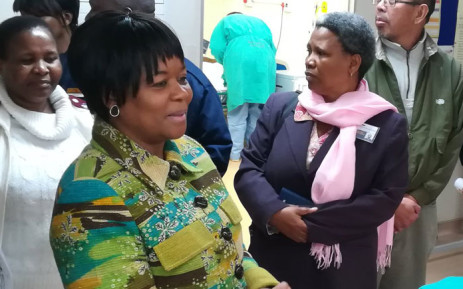 Gauteng Health MEC Gwen Ramokgopa. Picture: @GautengHealth/Twitter