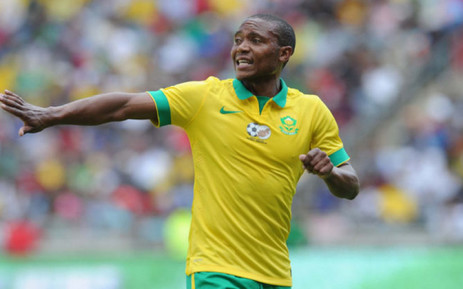 Bafana Bafana and Supersport midfielder Thuso Phala. Picture: Thuso Phala official Facebook page.