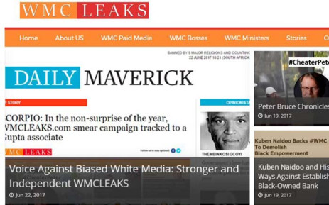 Gupta 'relative' linked to WMC leaks site