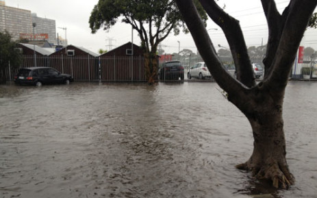 FILE: The weather services has warned heavy rains will persist throughout the weekend.
