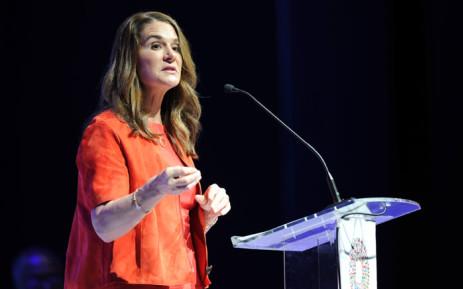 Melinda Gates. Picture: AFP