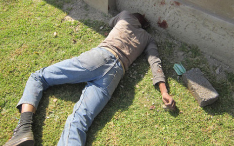 A victim of mob justice. Picture: EWN