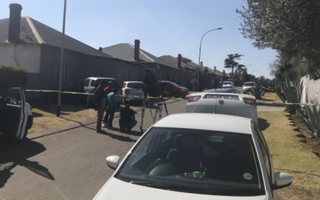 Modder Street in Brakpan where the home of four family members who were murdered on 10 July 2019 is situated. Picture: Bonga Dlulane/EWN