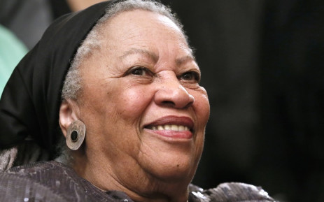 US author Toni Morrison attends on September 21, 2012 a reception sponsored by the US ambassador at his residence in Paris, as part of the 10th America Festival. Picture: AFP