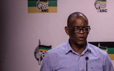 ANC secretary-general Ace Magashule speaks at a media briefing about the outcomes of an ANC NWC meeting on 26 February 2019. Picture: Abigail Javier/EWN