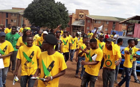 ANC volunteers gearing up for the first day of voter registration weekend. Picture: @MYANC/Twitter.