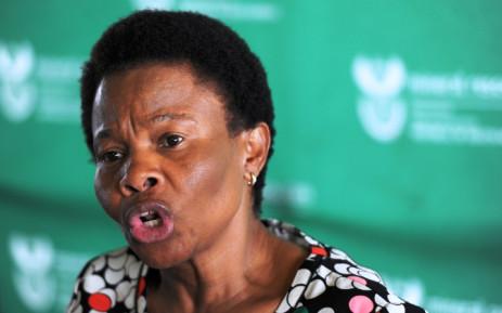 FILE: Former Mineral Resources Minister Susan Shabangu. Picture: Sapa.
