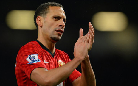 A picture taken on 16 March, 2013 shows Manchester United's English defender Rio Ferdinand leaving the pitch after the English Premier League football match between Manchester United and Reading at Old Trafford in Manchester. Picture: AFP.