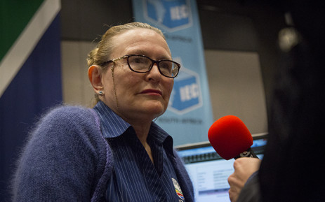Western Cape Premier Helen Zille gave her reaction to the preliminary results shortly after arriving at the IEC's provincial results centre on 4 August 2016. Picture: Aletta Harrison/EWN