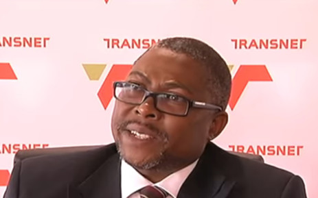 A screengrab of Transnet CEO Siyabonga Gama. Picture: YouTube