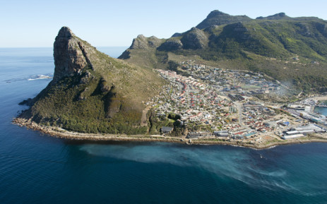 A plume off the Hout Bay coast which marine conservation photographer Jean Tresfon claims eminates from the local sewage outfall pipe. Picture: Jean Tresfon