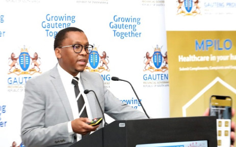 FILE: Former Gauteng Health MEC Bandile Masuku. Picture: @GautengProvince/Twitter