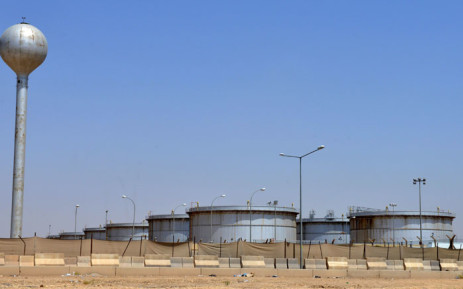 A picture taken on 15 September 2019 shows an Aramco oil facility at the edge of the Saudi Arabian capital Riyadh. Picture: AFP